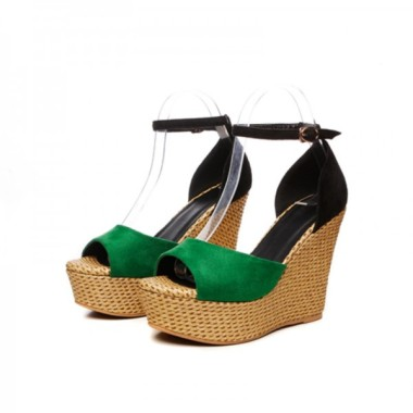 summer-wedges-women-sandals-casual-open-toe-high-heels-shoes-woman-fashion-sexy-platform-ankle-strap-lady-sandal-green